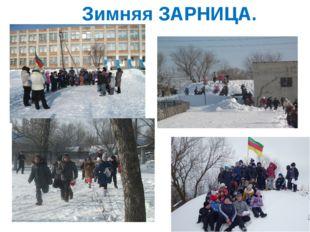 Зимняя ЗАРНИЦА.
