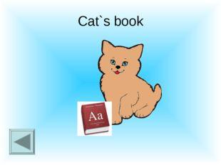 Cat`s book