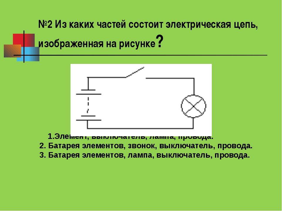 Ивановская электрическая цепь состоит из взять отпуск
