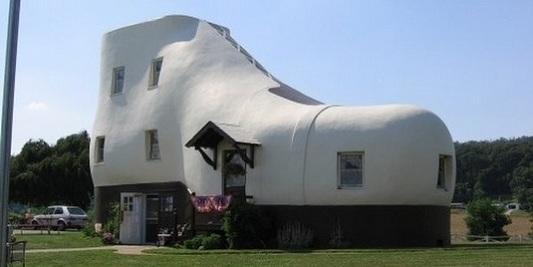 Дом-башмак в Пенсильвании (США)