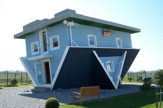 Перевернутый дом в Трассенхейде