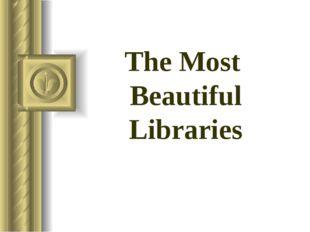 The Most Beautiful Libraries Perenskaya School 2015
