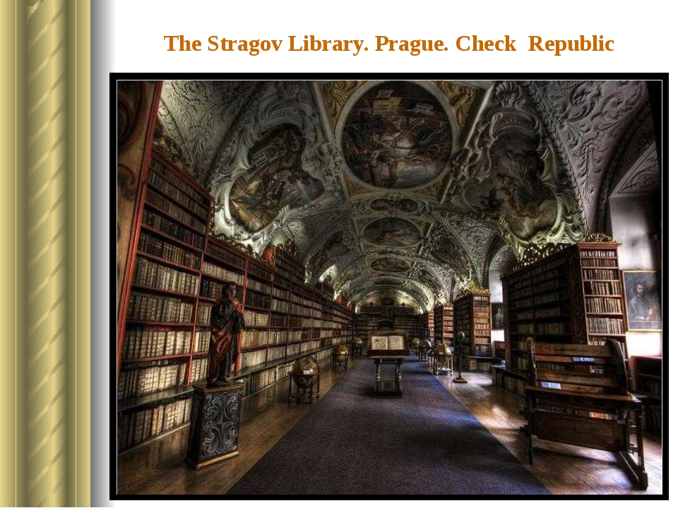 The Stragov Library. Prague. Check Republic The library which was founded in...
