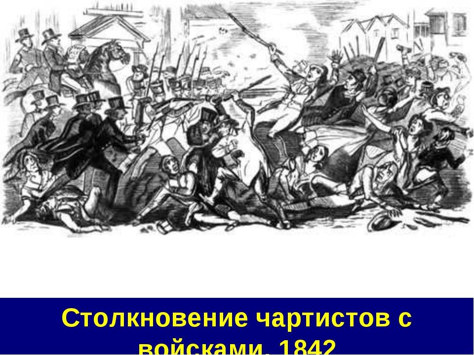 Столкновение чартистов с войсками, 1842
