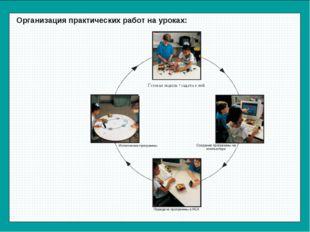 Организация практических работ на уроках:
