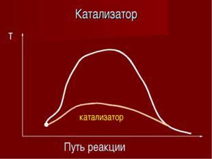Катализатор т Путь реакции катализатор