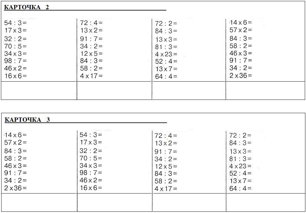 задачи на деление остатка на число
