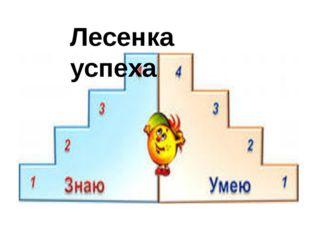 Лесенка успеха Журавлёва наталья Романовна