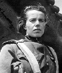 военный лётчик Егорова Анна Александровна