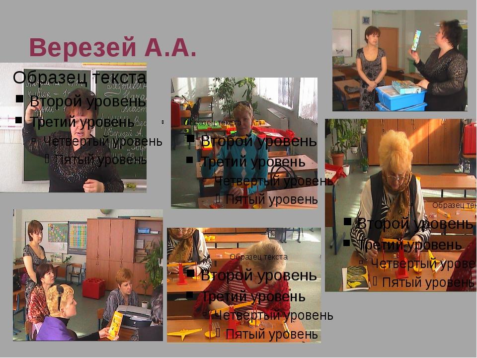 Верезей А.А.