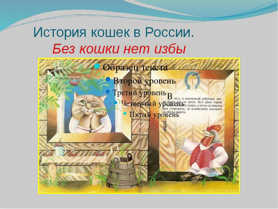 История кошек в России. Без кошки нет избы