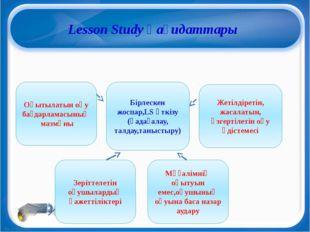 Lesson Study қағидаттары Бірлескен жоспар,LS өткізу (қадағалау, талдау,таныс