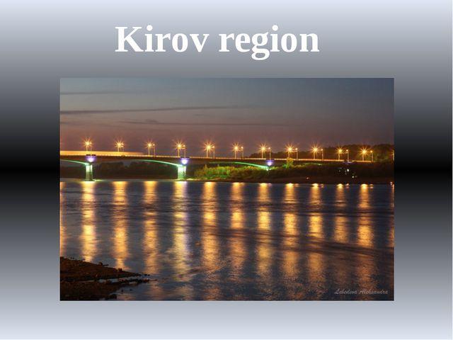 Kirov region