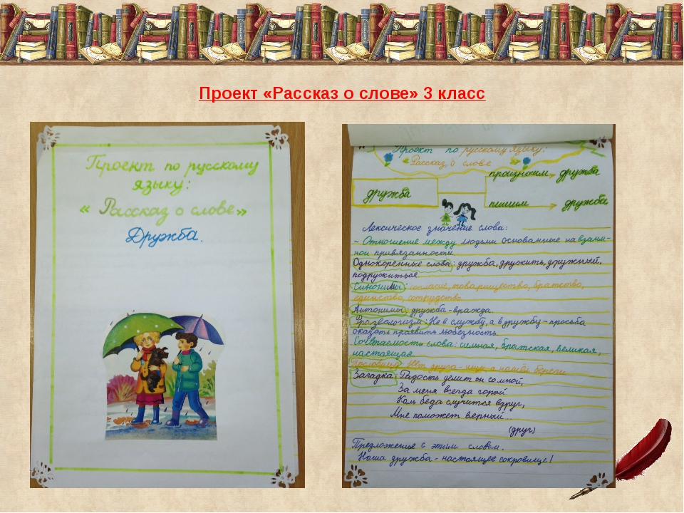 Как сделать проект по русскому 988