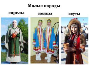Малые народы карелы ненцы якуты