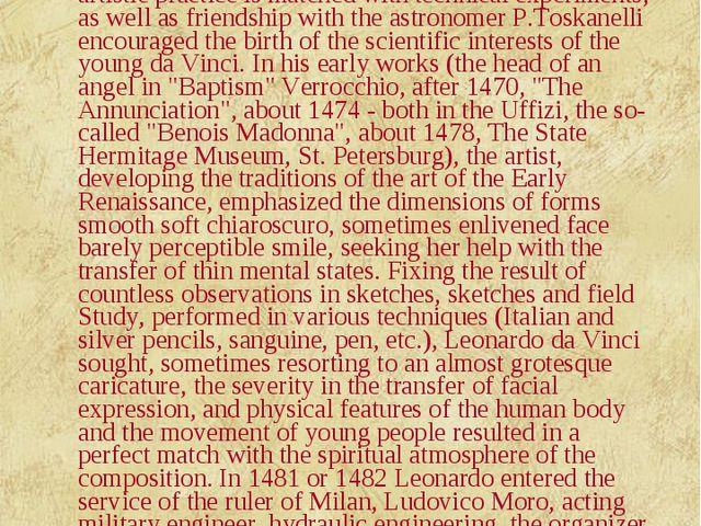 Leonardo da Vinci (1452-1519), Italian painter, sculptor, architect, scientis...