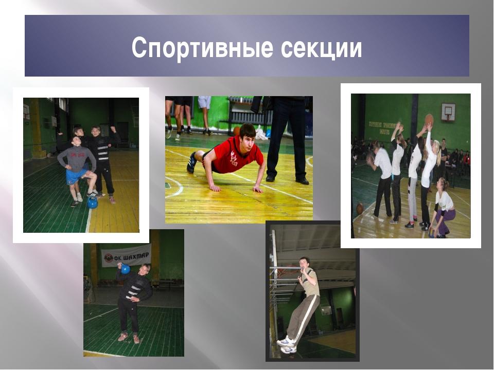 Спортивные секции