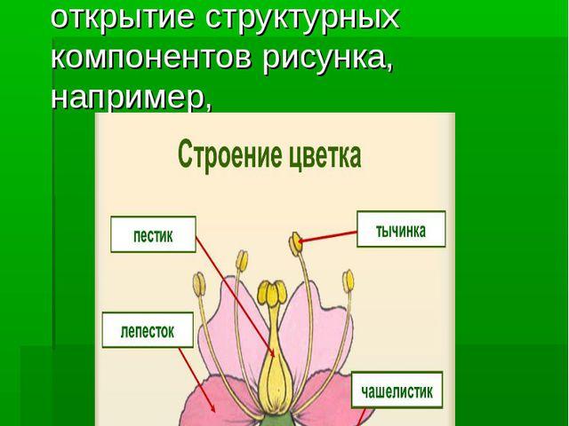6.Работа с изображениями При изучении нового материала поэтапное открытие ст...