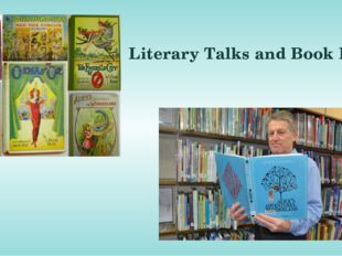 Literary Talks and Book Fairs