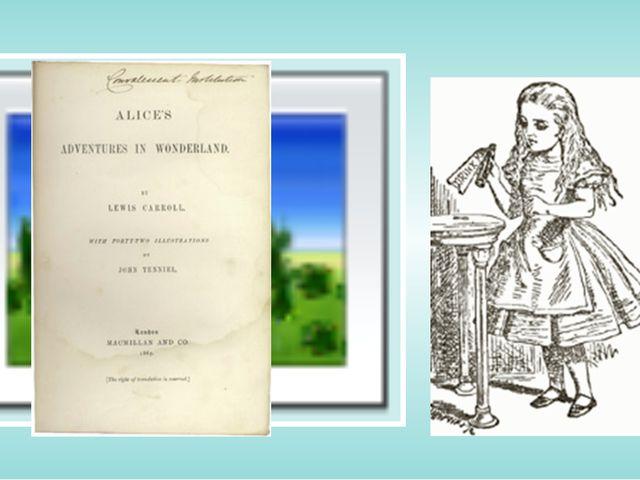 John Tenniel's illustrations of Alice do not portray the real Alice Liddell,...