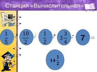 Станция «Вычислительная» - Х 0,125 1,625 -