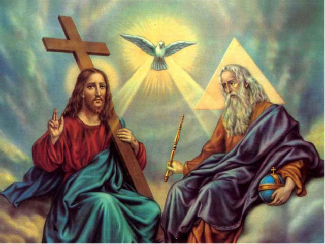День Святой Троицы. Пятидесятница. Праздник Пятидесятницы - день явления Дух...