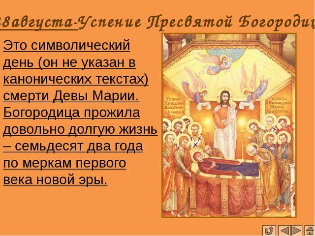 Покров Пресвятой Богородицы Праздник ПОКРОВА ПРЕСВЯТОЙ БОГОРОДИЦЫ был установ...