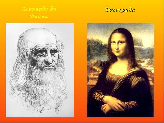 Джоконда Леонардо да Винчи