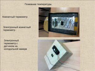 Показание температуры Комнатный термометр Электронный комнатный термометр Эле