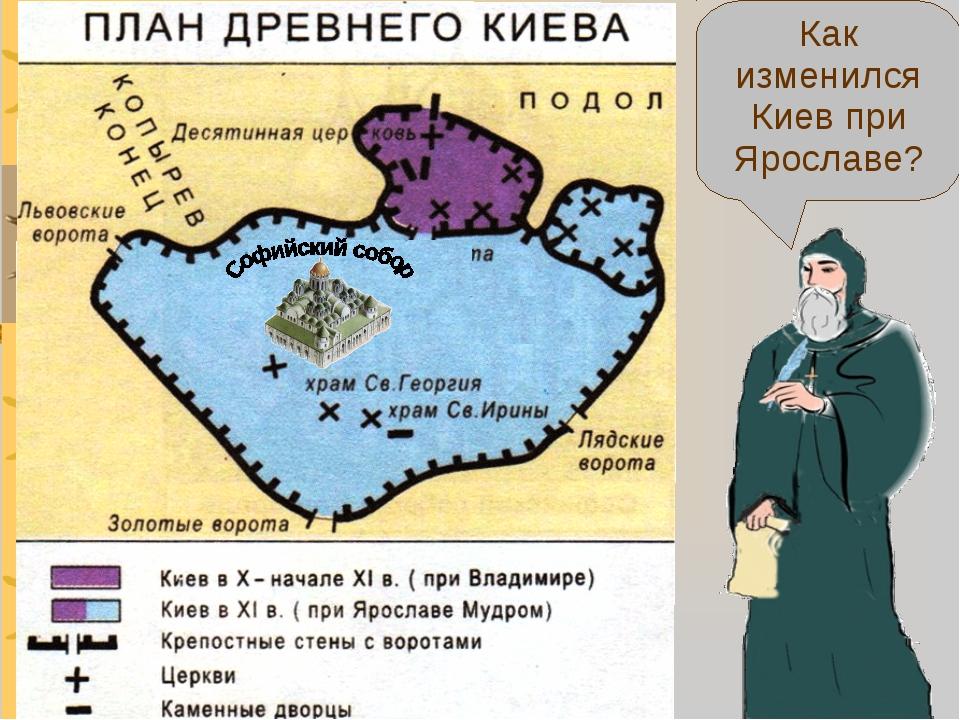 Как изменился Киев при Ярославе?