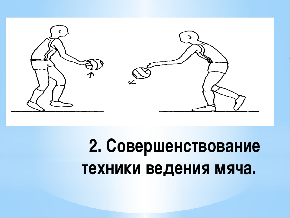 2. Совершенствование техники ведения мяча.