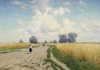 Дорога :: Крыжицкий Константин Яковлевич, 1899 г.