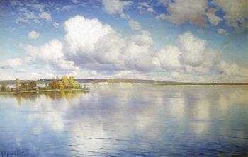 Озеро :: Крыжицкий Константин Яковлевич, 1896 г.