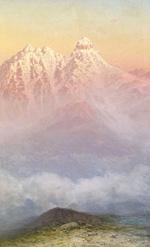 Розовые горы :: Занковский Илья Николаевич, 1890-е