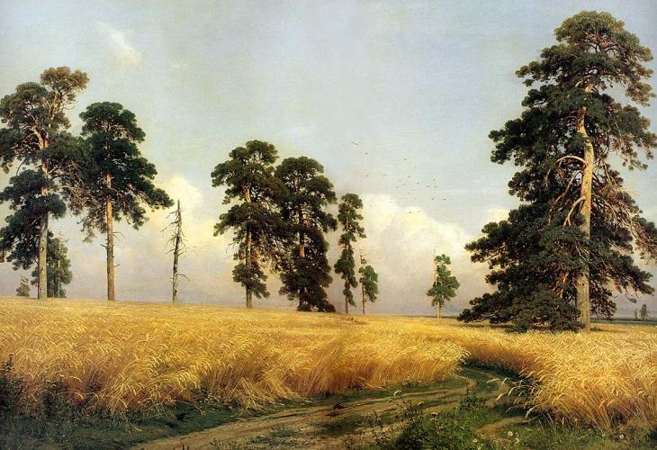 И Шишкин Рожь 1878