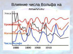 Влияние числа Вольфа на природу