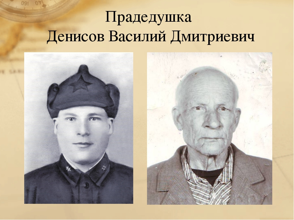 Прадедушка Денисов Василий Дмитриевич