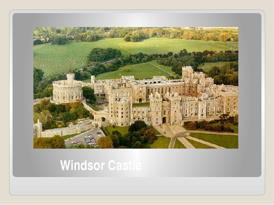 Windsor Castle Windsor Castle is the official residence of The Queen and hold...