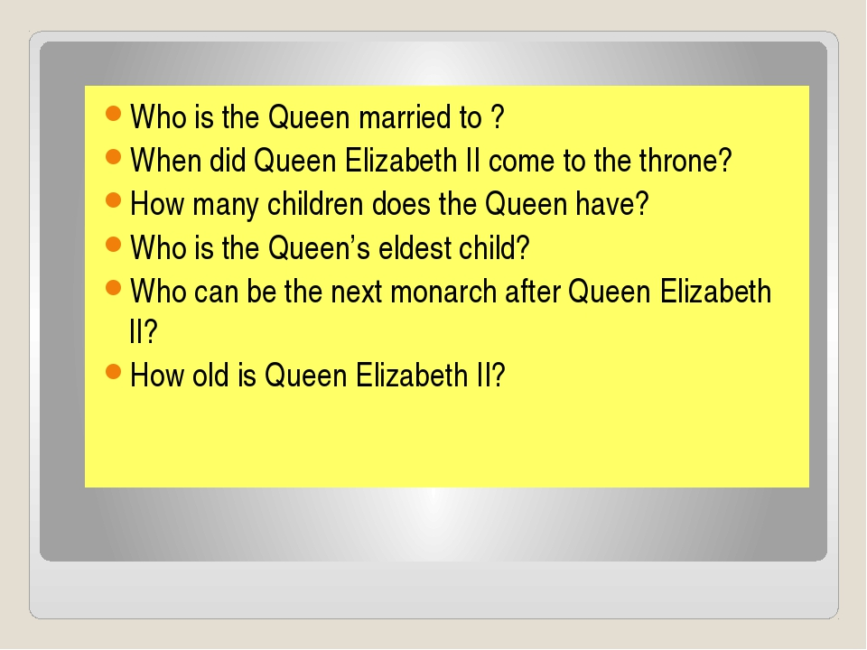 Who is the Queen married to ? When did Queen Elizabeth II come to the throne?...