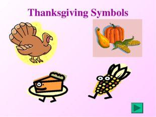 Thanksgiving Symbols