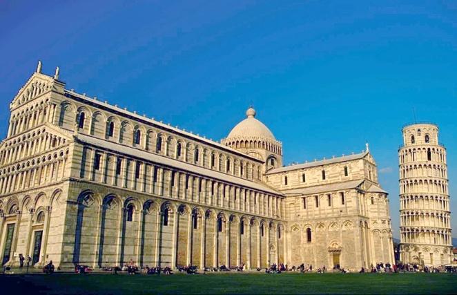 Пизанский собор с кампанилой