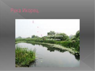Река Икорец.