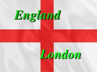 England London