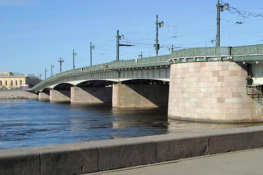 Liteiny Bridge, St. Petersburg, Russia