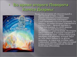 Будда дал поучения об относительной и абсолютной истине, а также Взаимозависи