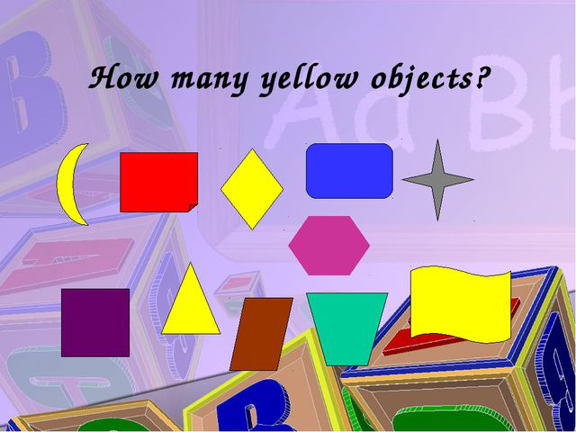 How many yellow objects?