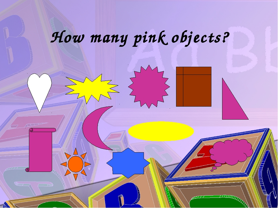 How many pink objects?