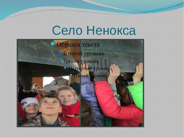 Село Ненокса