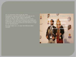Am 13. November 2009 wurde das dritte StudioalbumGute Reiseveröffentlicht,