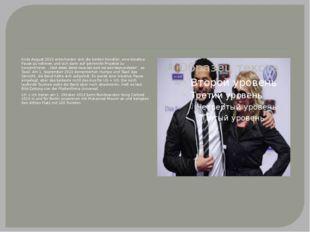 Ende August 2010 entschieden sich die beiden Künstler, eine kreative Pause zu
